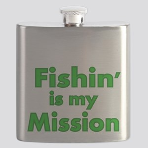 FISHIN IS MY MISSION Flask