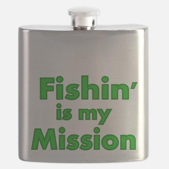 FISHIN IS MY MISSION Flask