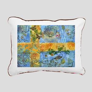 swedish flag Rectangular Canvas Pillow