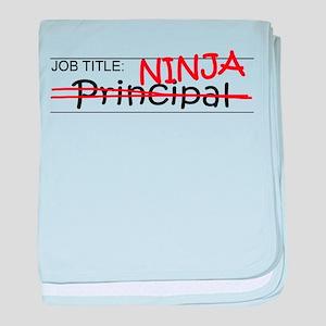 Job Ninja Principal baby blanket