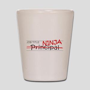 Job Ninja Principal Shot Glass