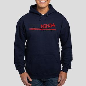 Job Ninja Principal Hoodie (dark)