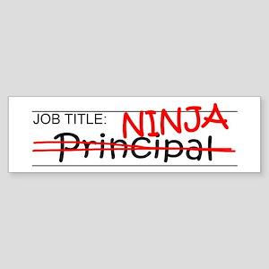Job Ninja Principal Sticker (Bumper)