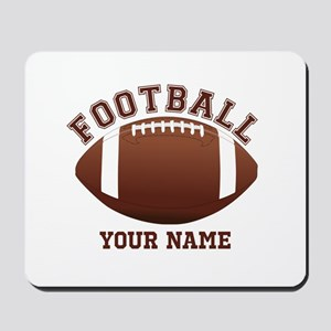 Personalized Name Footbal Mousepad