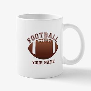 Personalized Name Footbal Mug