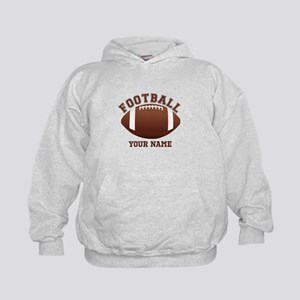 Personalized Name Footbal Kids Hoodie