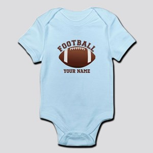 Personalized Name Footbal Infant Bodysuit
