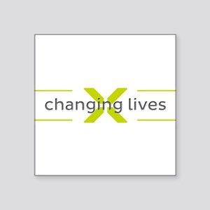 Changing Lives Sticker
