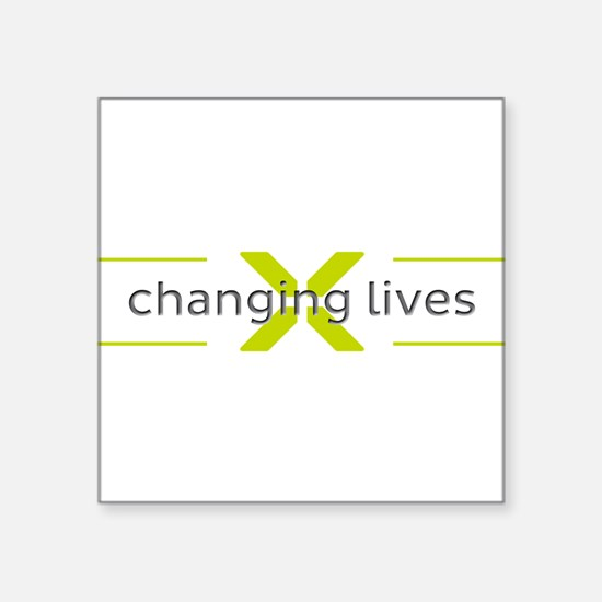 Changing Lives Sticker