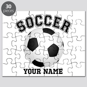 Personalized Name Soccer Puzzle