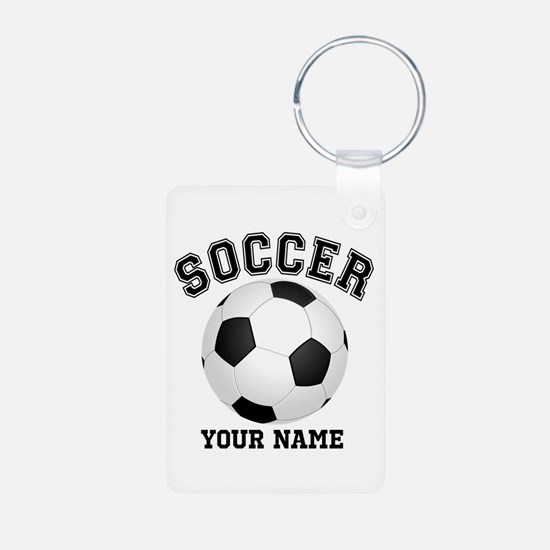 Personalized Name Soccer Keychains