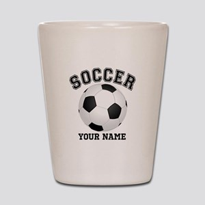 Personalized Name Soccer Shot Glass