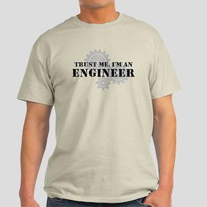 Trust Me I'm An Engineer Light T-Shirt
