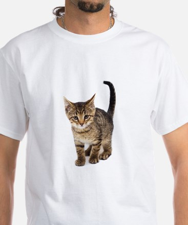 Cute Brown Tabby Kitten T-Shirt