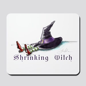 Shrunk Witch title2 Mousepad