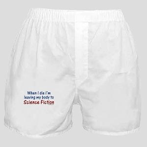 Science Fiction Boxer Shorts