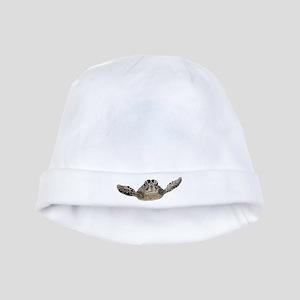 Sea turtle baby hat