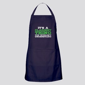 It's a Clarinet Thing Apron (dark)