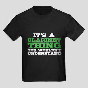 It's a Clarinet Thing Kids Dark T-Shirt
