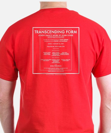 Transcending Form T-Shirt 2-Sided