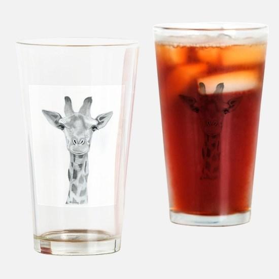 Harvey the Giraffe Drinking Glass