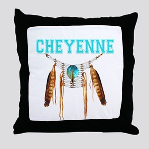 Proud to be Cheyenne Throw Pillow