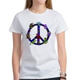 Dragon peace sign Women's T-Shirt