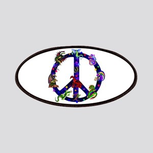 Dragons Peace Sign Patch
