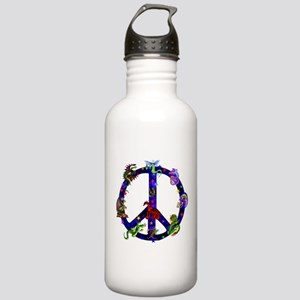 Dragons Peace Sign Stainless Water Bottle 1.0L