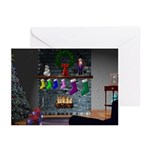 3D Christmas Cards (Pk of 10)