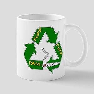 Weed Puff Puff Pass Mug