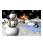 Awesome Christmas Postcards (Package of