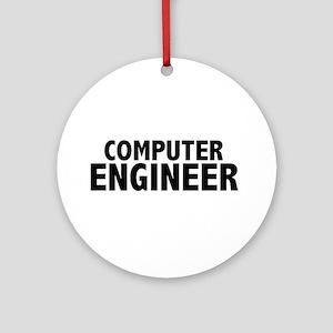 Computer Engineer Ornament (Round)