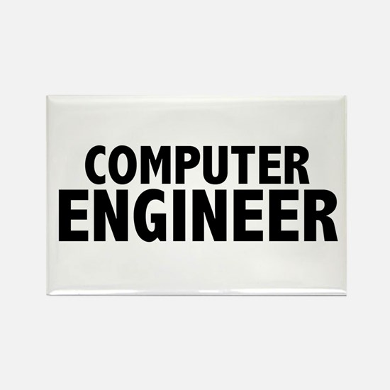 Computer Engineer Rectangle Magnet