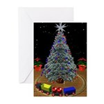 3D Christmas Tree Cards (Pk of 10)