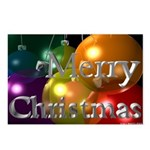 3D Christmas Postcards (Package of 8)