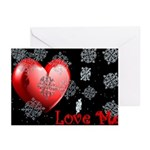 Love Me Christmas Greeting Cards (Packag
