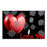 Love Me Christmas Postcards (Package of