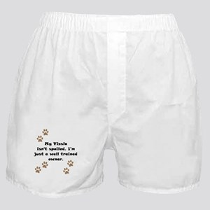 Well Trained Vizsla Owner Boxer Shorts