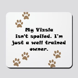 Well Trained Vizsla Owner Mousepad