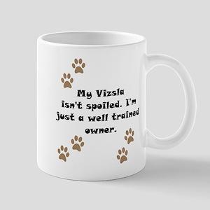 Well Trained Vizsla Owner Small Mug