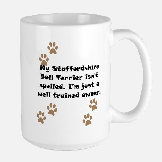 Well Trained Staffordshire Bull Terrier Owner Mug
