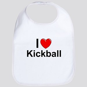 Kickball Cotton Baby Bib