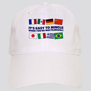 Its Easy to Mingle Baseball Cap