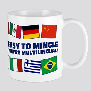 Its Easy to Mingle Mug