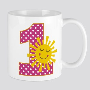 Sunshine 1st Birthday Mugs