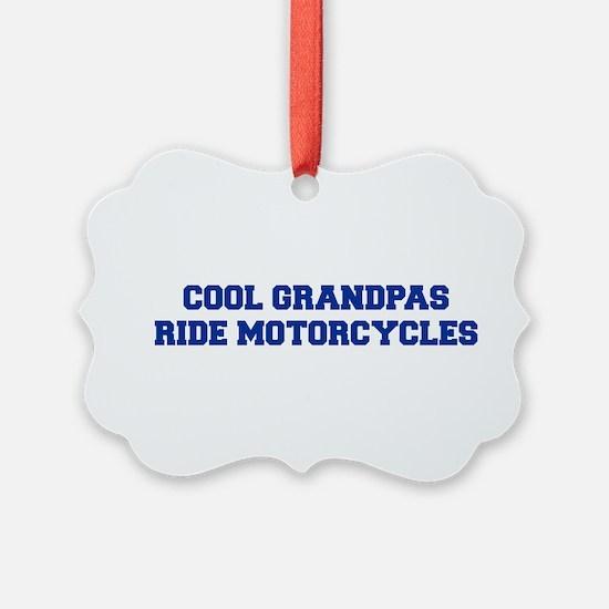 cool-grandpas-ride-motorcycles-fresh-blue Ornament