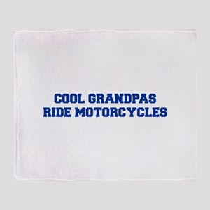 cool-grandpas-ride-motorcycles-fresh-blue Throw Bl
