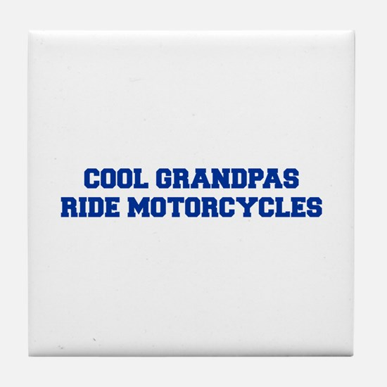 cool-grandpas-ride-motorcycles-fresh-blue Tile Coa