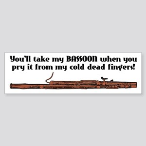 Bassoon Bumper Sticker